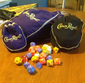 Can't decide if I have a drinking problem, or a dice addiction...